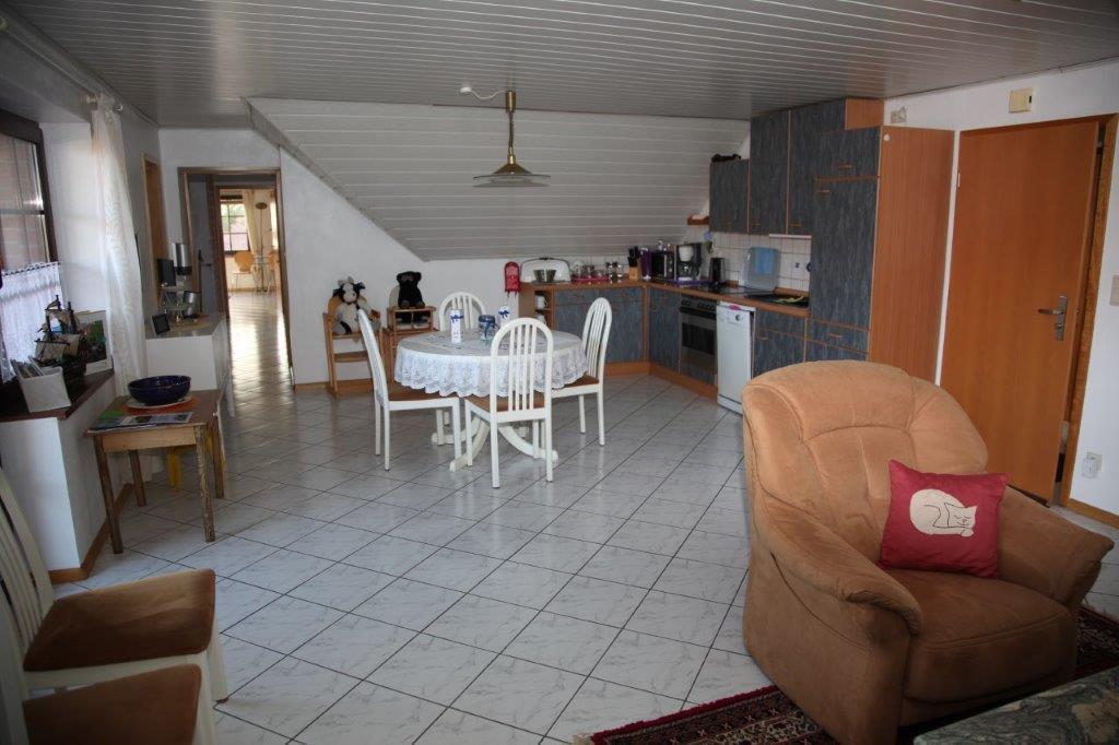 Möwe, Wohn-Küchen-Bereich